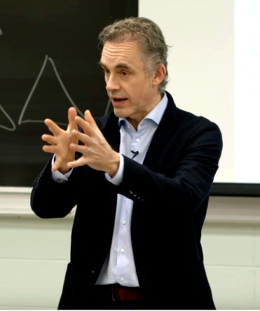 Peterson Portrait Lecturing