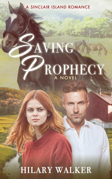 Saving Prophecy Cover with Sinclair Island Romance